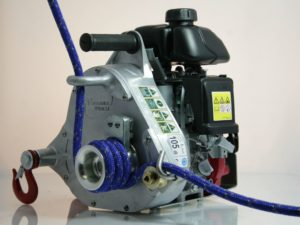 Draagbare lier - Portable Winch